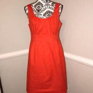 J. Crew red/ orange Dress Sz. 10
